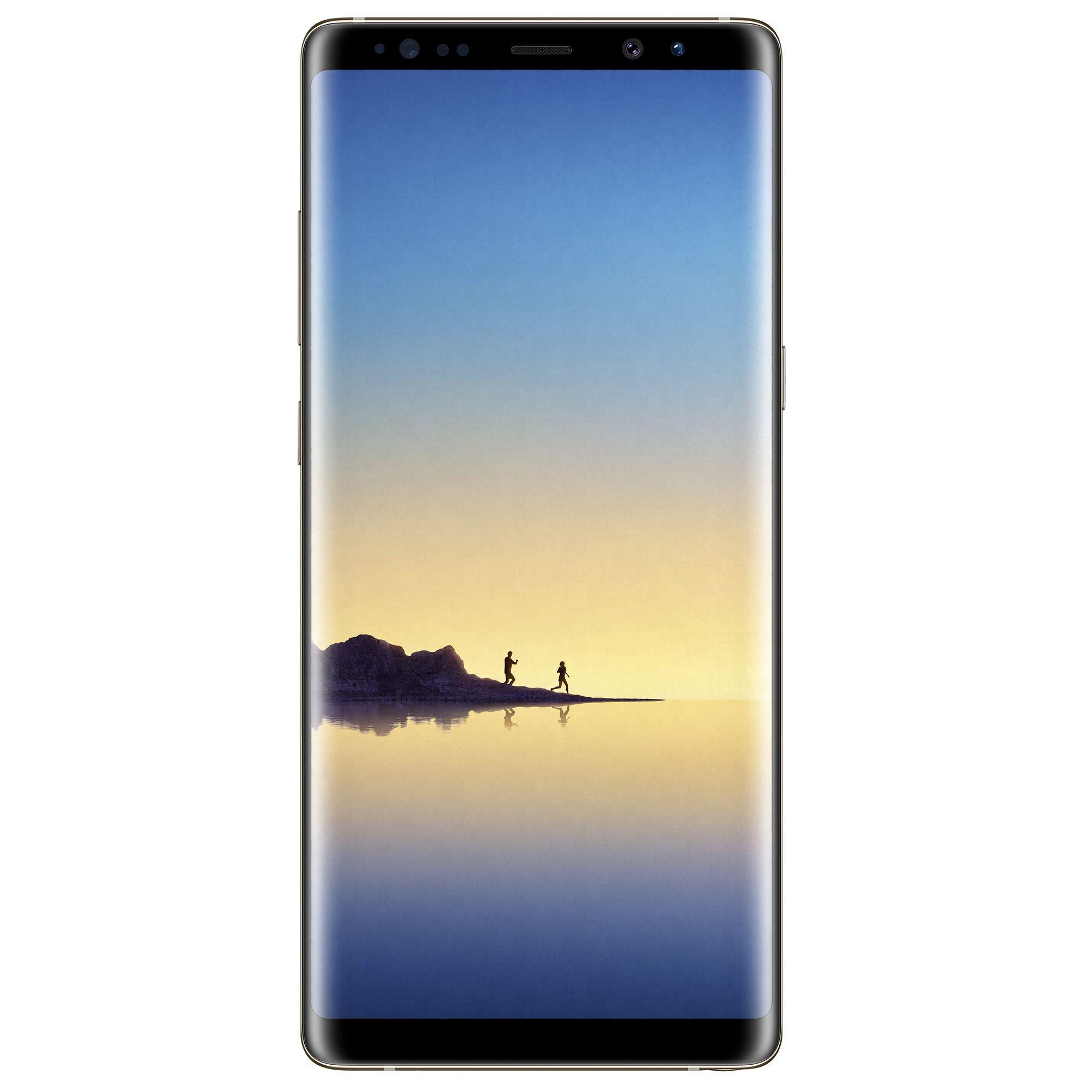 Telefon Mobil Samsung Galaxy Note 8 N950 64GB Flash 6GB RAM Dual SIM 4G Maple Gold