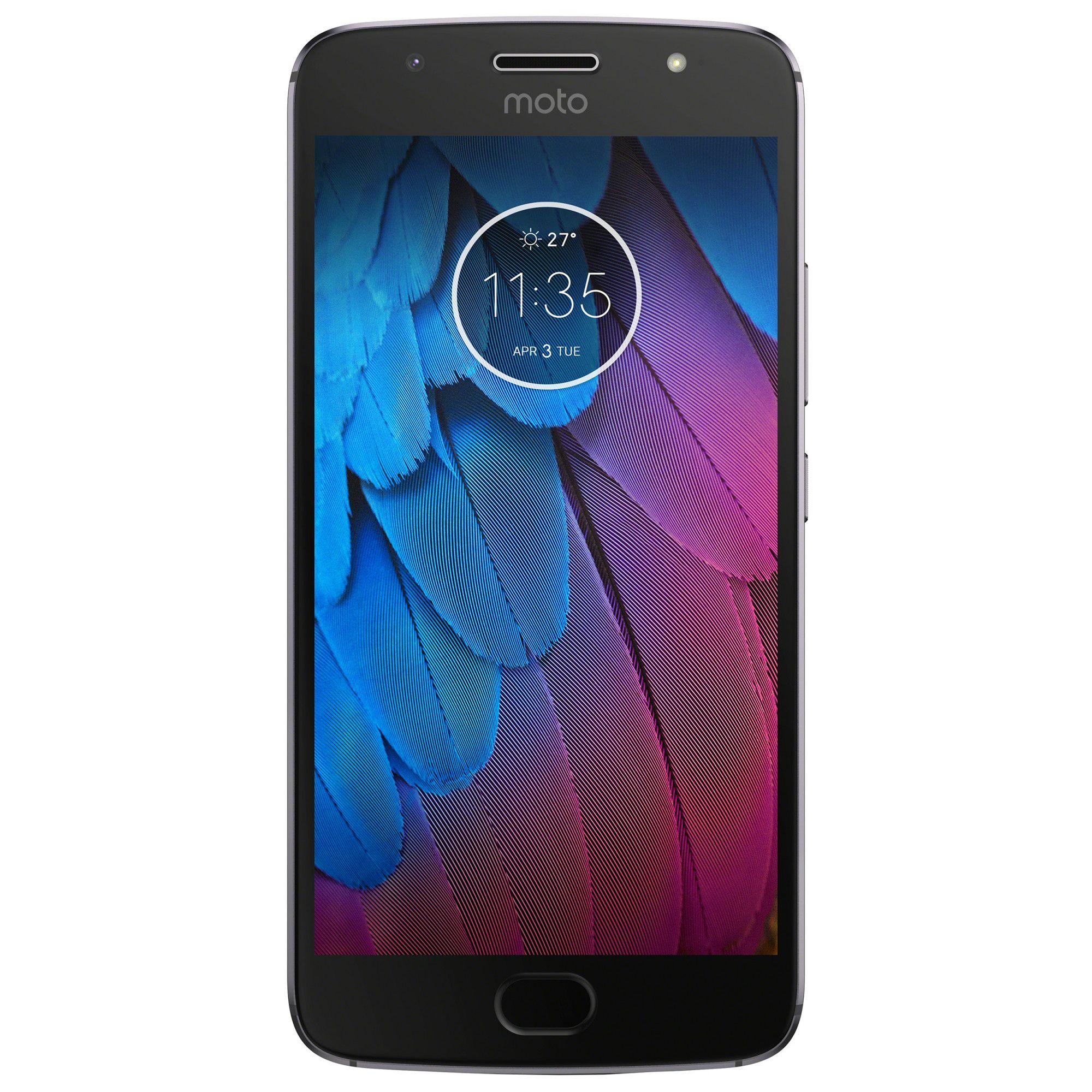 Telefon Mobil Motorola Moto G5S 32GB Flash 3GB RAM Dual SIM 4G Dark Grey