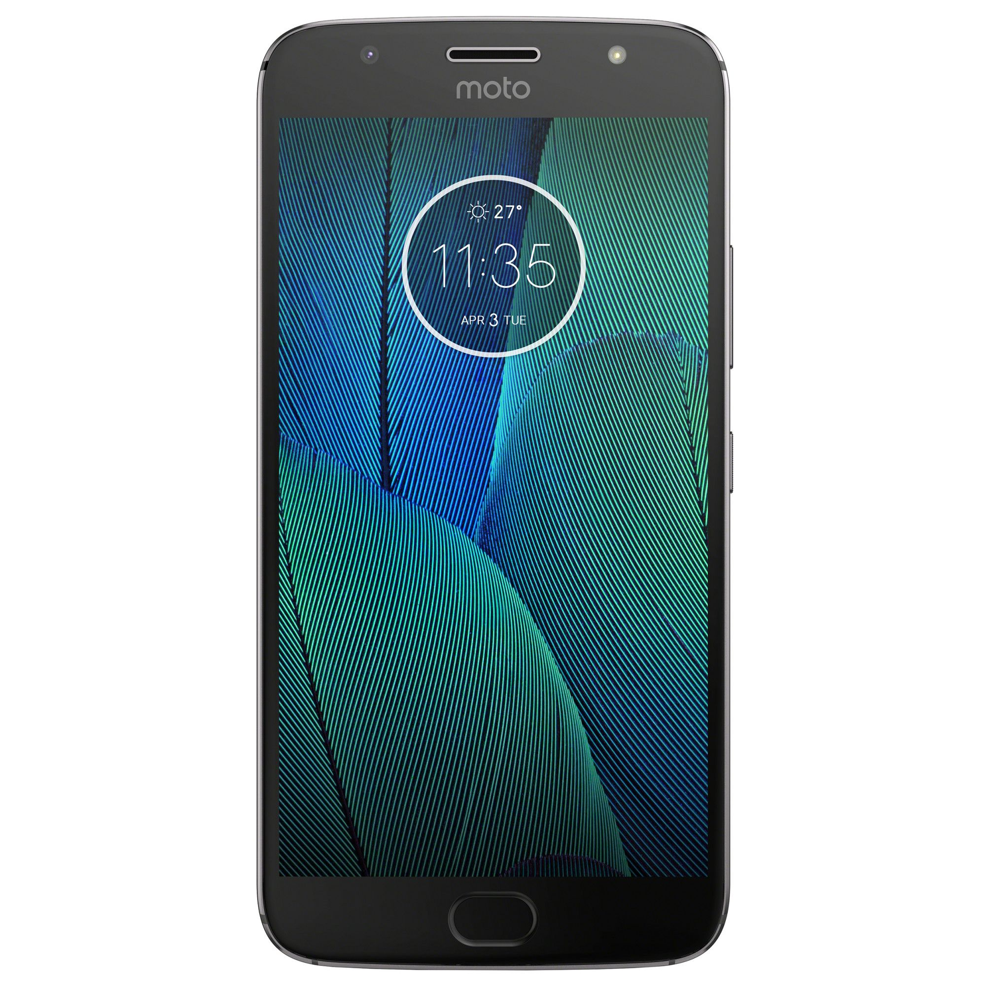 Telefon Mobil Motorola Moto G5S Plus 32GB Flash 4GB RAM Dual SIM 4G Dark Grey