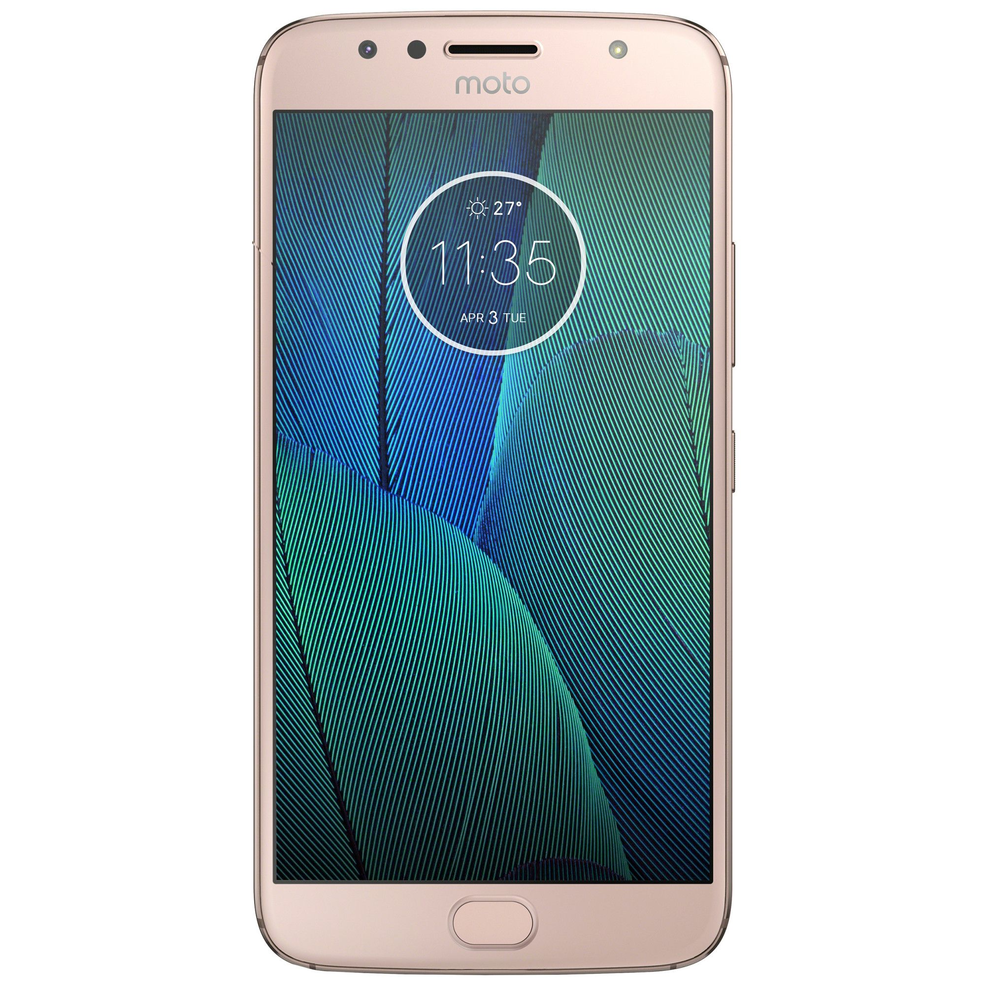 Telefon Mobil Motorola Moto G5S Plus 32GB Flash 4GB RAM Dual SIM 4G Gold