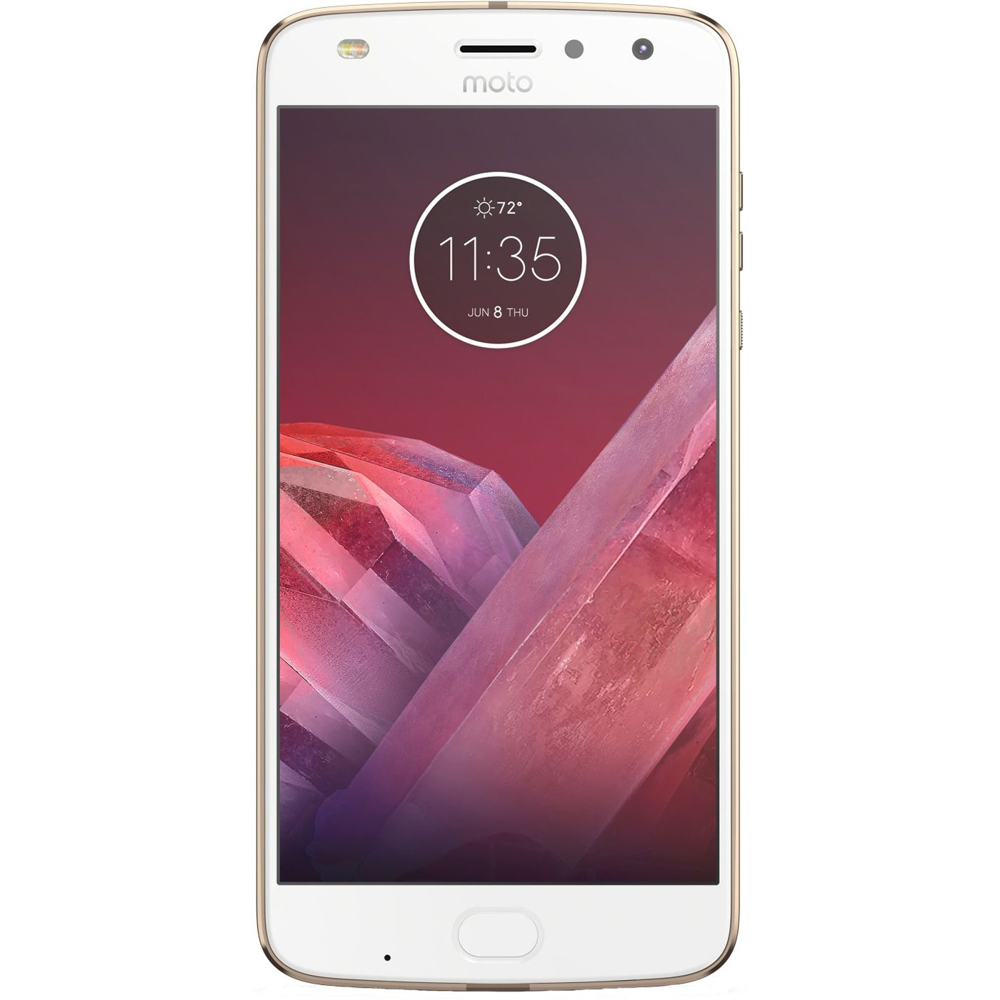 Telefon Mobil Motorola Moto Z2 Play 64GB Flash 4GB RAM Dual SIM 4G Gold