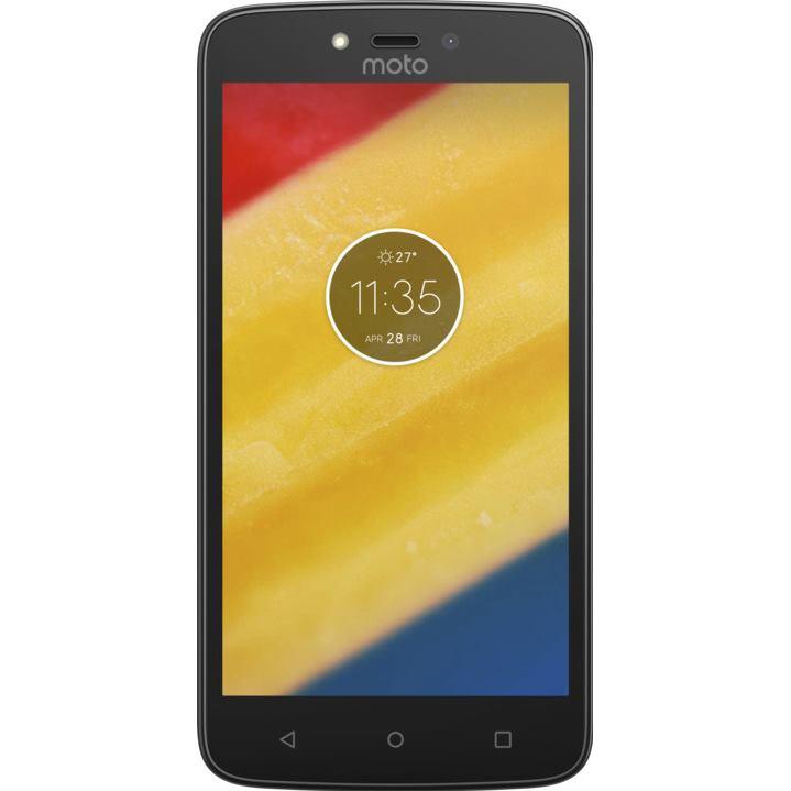 Telefon Mobil Motorola Moto C Plus 16GB Flash 1GB RAM Dual SIM 4G Black