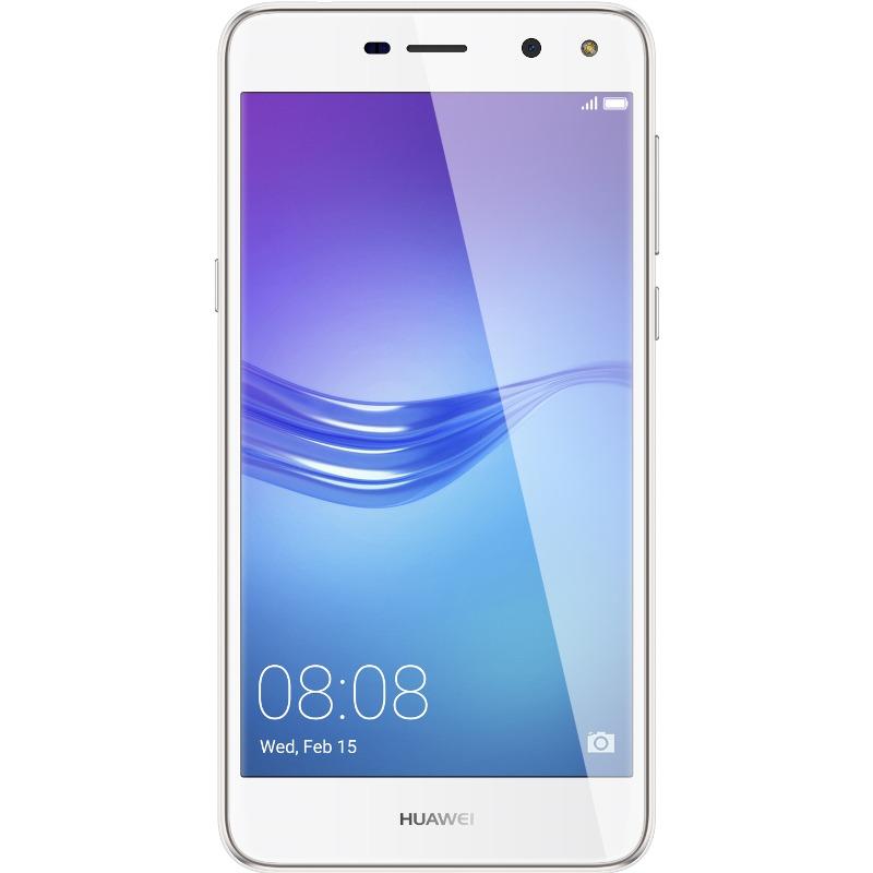Telefon Mobil Huawei Y6 2017 16GB Flash 2GB RAM Dual SIM 4G White