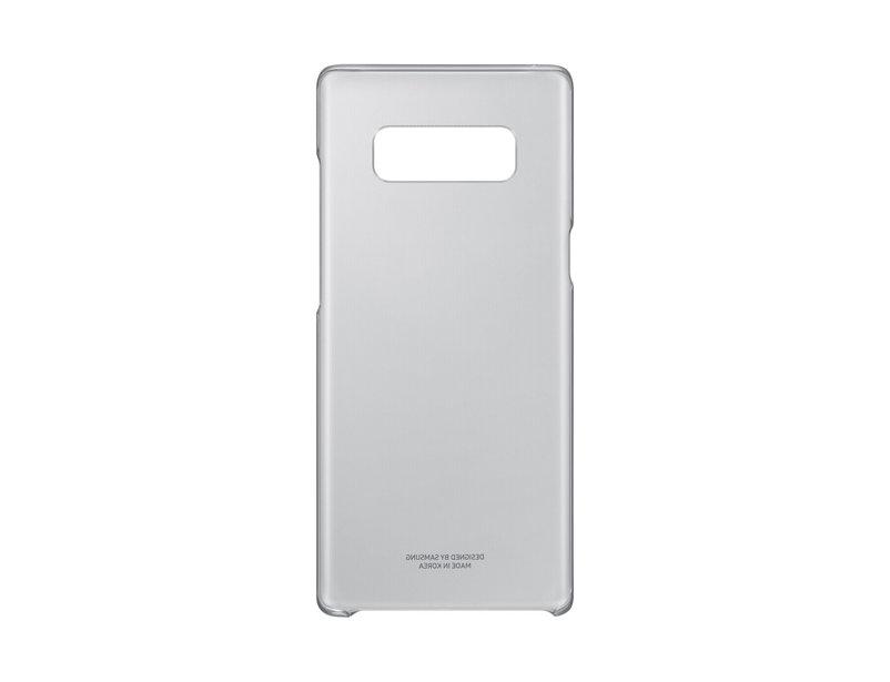 Capac protectie spate Clear Cover Samsung pentru Galaxy Note 8 N950 Negru Transparent
