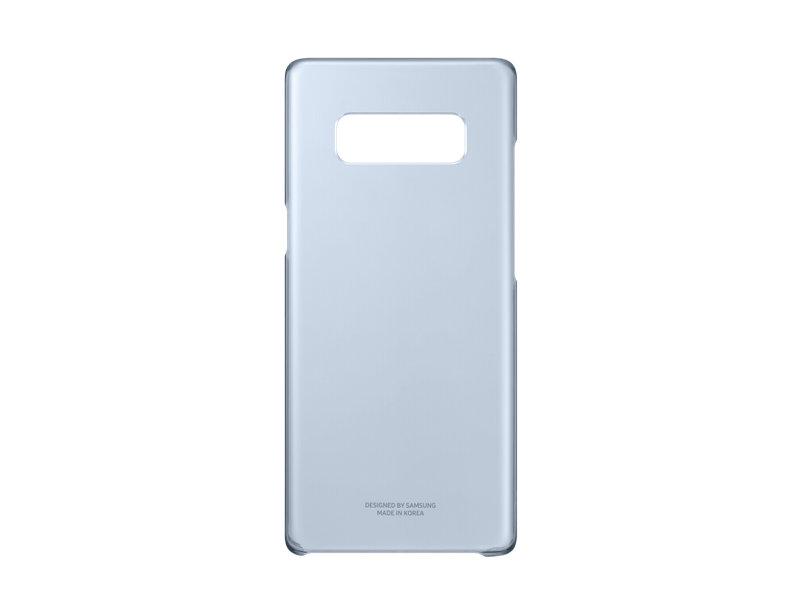 Capac protectie spate Clear Cover Samsung pentru Galaxy Note 8 N950 Albastru Transparent