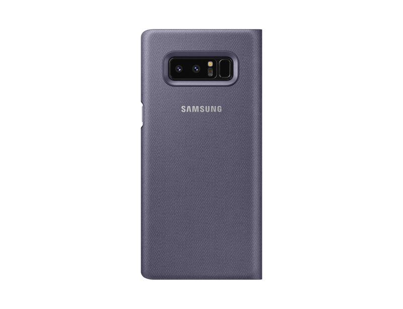 Husa LED View Cover Samsung EF-NN950 pentru Galaxy Note 8 N950 Violet