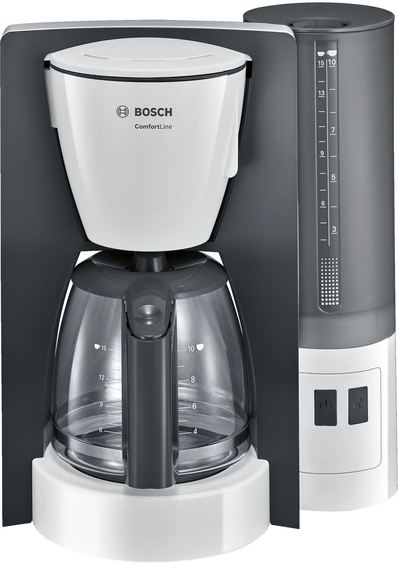Cafetiera Bosch TKA6A041 1000W 1.25L White