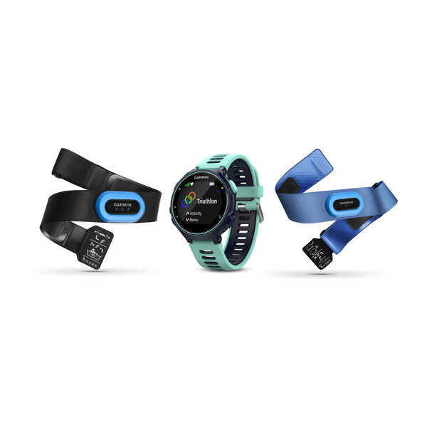 Smartwatch Garmin Forerunner 735XT Midnight/Albastru Frost