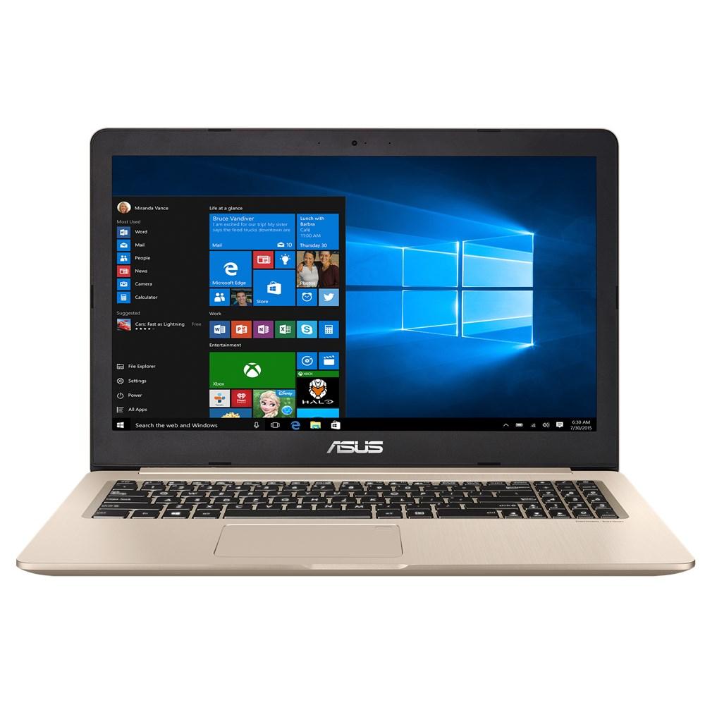 Notebook Asus VivoBook Pro N580VD 15.6 Full HD Intel Core i5-7300HQ GTX 1050-2GB RAM 4GB HDD 1TB Endless Auriu
