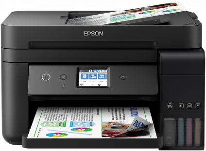 Multifunctional Inkjet Color Epson EcoTank ITS L6190
