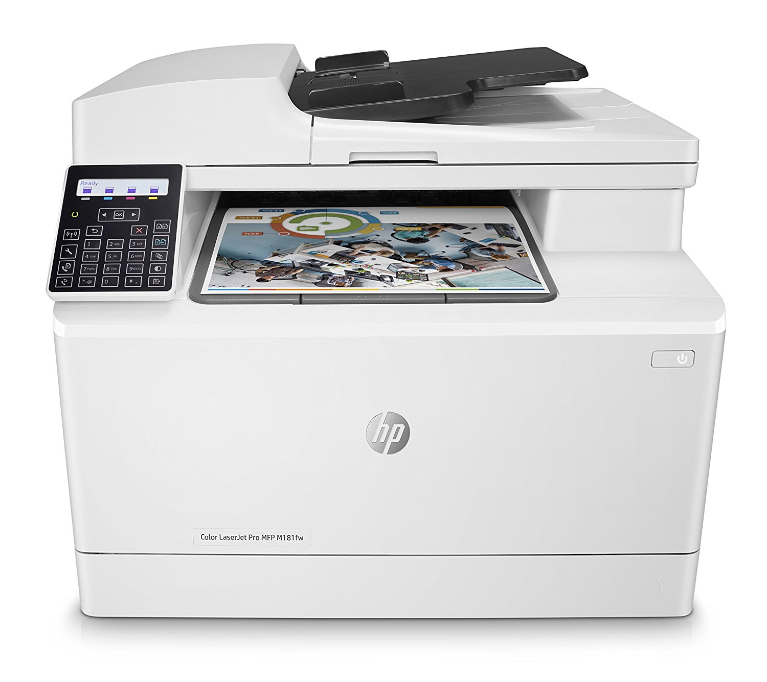 Multifunctional Laser Color HP LaserJet Pro MFP M181fw