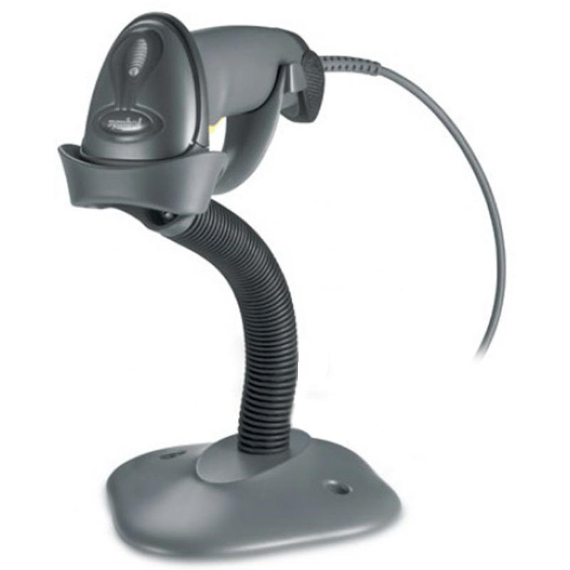 Cititor coduri de bare Zebra LS2208 USB Stand Negru