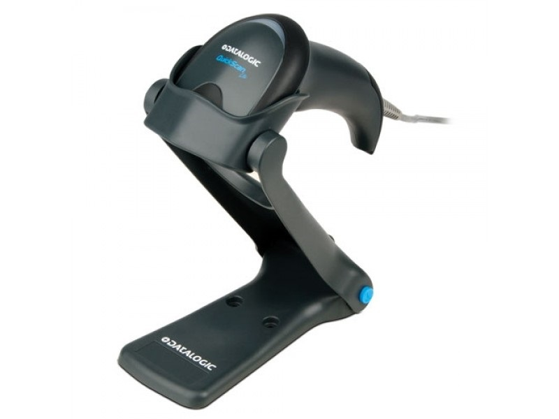 Cititor coduri de bare Datalogic QuickScan Lite Imager QW2120 USB Stand Negru