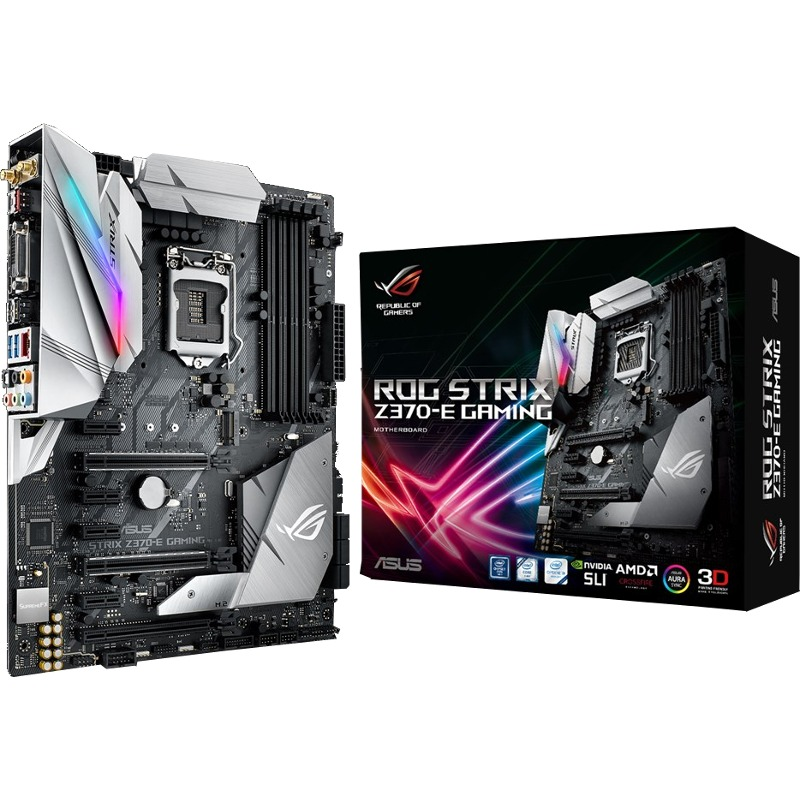 Placa de baza ASUS ROG STRIX Z370-E GAMING Socket 1151