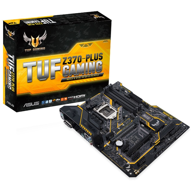 Placa de baza ASUS TUF Z370-PLUS GAMING socket 1151