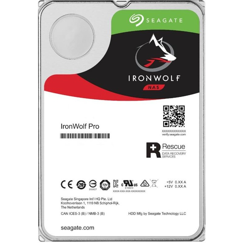 Hard Disk Desktop Seagate IronWolf Pro 6TB 7200RPM 256MB SATA III