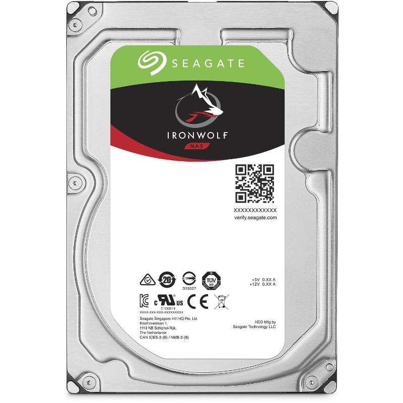 Hard Disk Desktop Seagate IronWolf 6TB 7200RPM 256MB SATA III