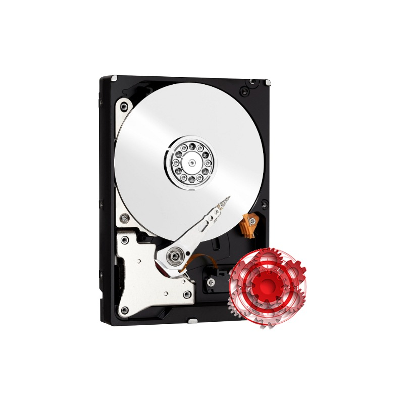 Hard Disk Desktop Western Digital WD Red PRO 10TB 7200RPM SATA3 256MB