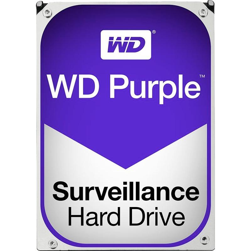 Hard Disk Desktop Western Digital WD Purple Surveillance 2TB 5400RPM SATA3 64MB