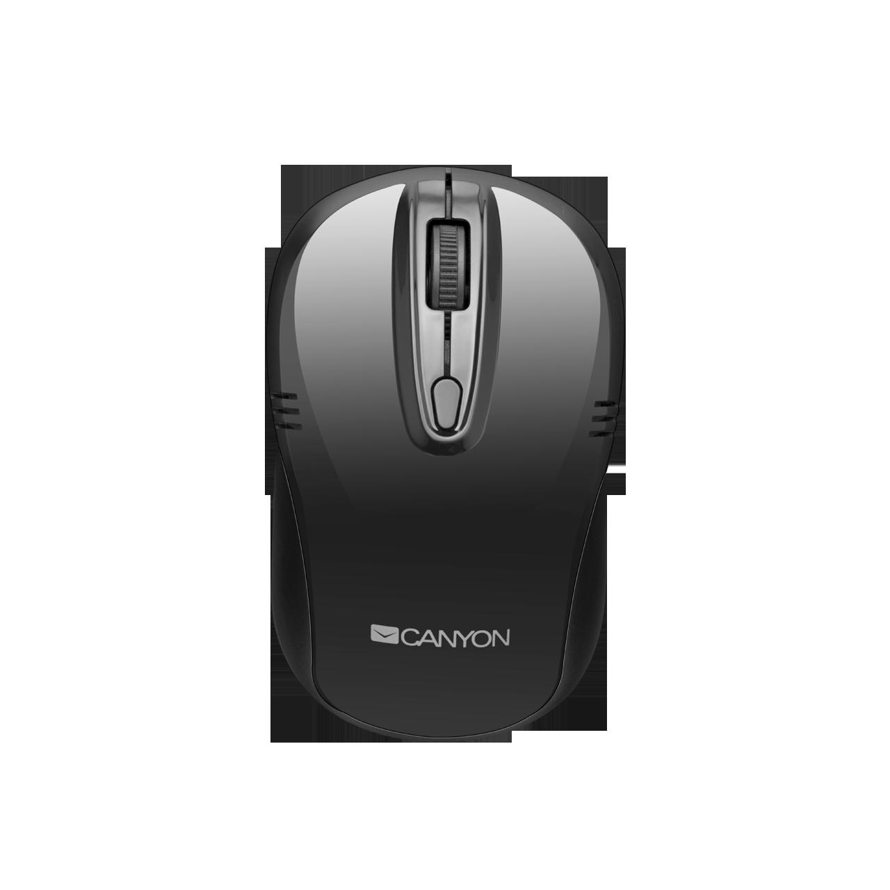 Mouse Wireless Cabyon CNE-CMSW02 Negru