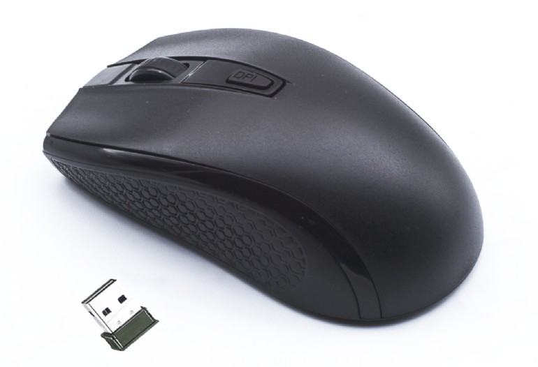 Mouse Gembird MUSW-107 Wireless Negru