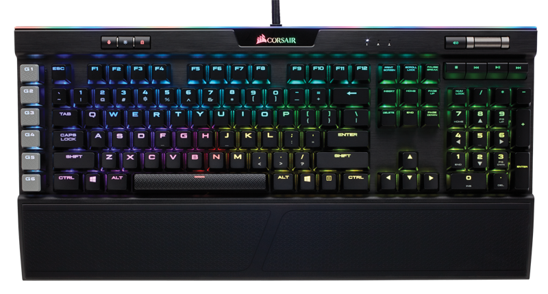 Tastatura Gaming Corsair K95 RGB Platinium Mechanical Cherry MX Brown-Black