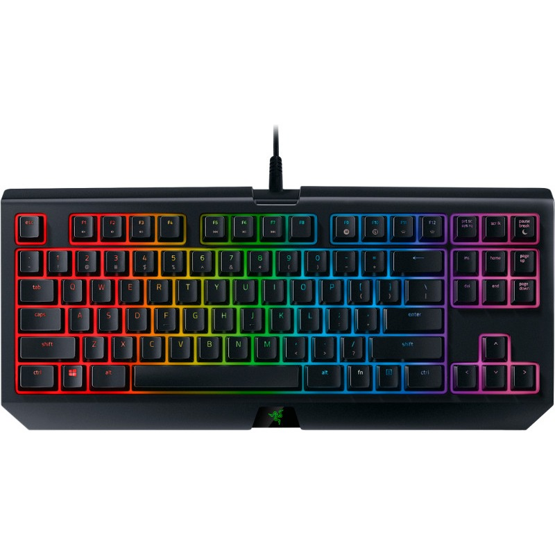 Tastatura Gaming Razer Blackwidow Tournament Edition Chroma V2 Yellow Switch Mecanica