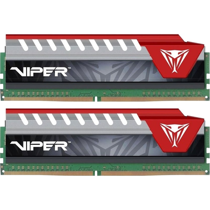 Memorie Desktop Patriot Vipe Elite 16GB(2 x 8GB) DDR4 2400MHz Red