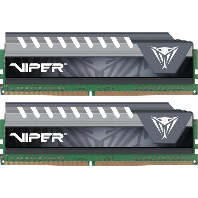 Memorie Desktop Patriot Viper Elite 32GB(2x16GB) DDR4 2133MHz Gray