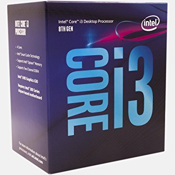 Procesor Intel Core i3-8100