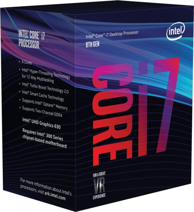 Procesor Intel Core i7-8700