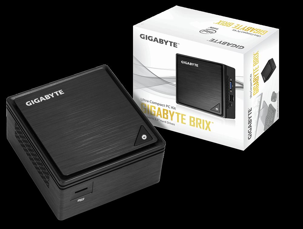 Barebone Gigabyte BRIX GB-BPCE-3455 Intel Celeron J3455