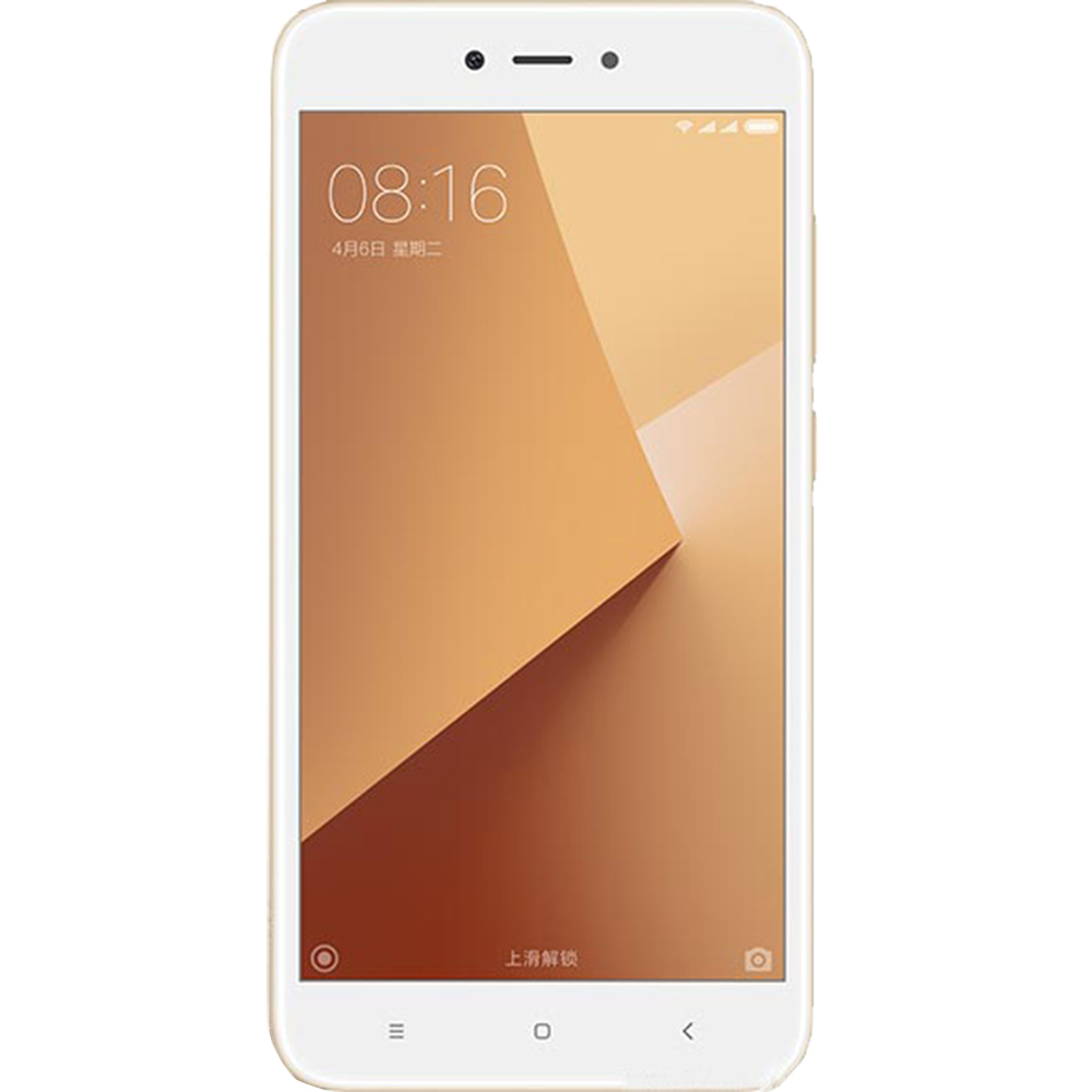 Telefon Mobil Xiaomi Redmi Note 5A 16GB Flash 2GB RAM Dual SIM 4G Gold