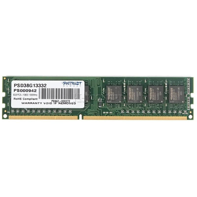 Memorie Desktop Patriot Signature 8GB DDR3 1333MHz