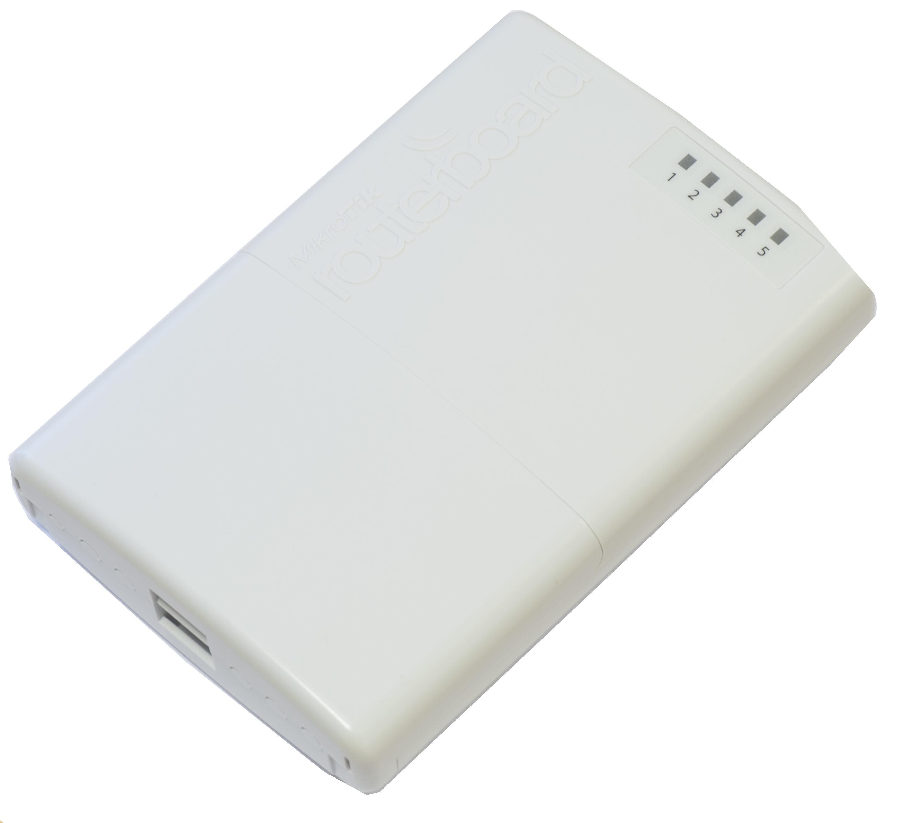 Router Mikrotik RB750P-PBr2 5xLAN RouterOS