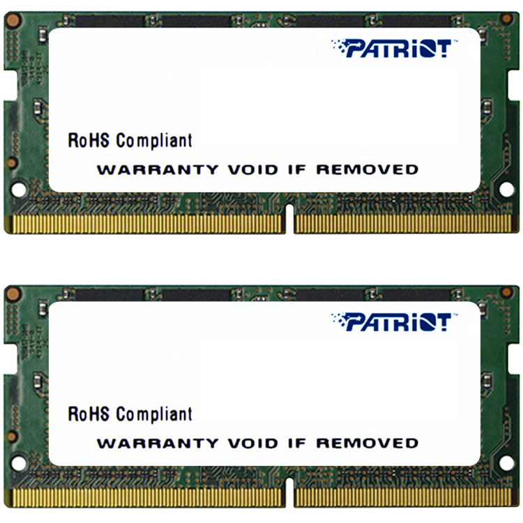 Memorie Notebook Patriot Signature 16GB(2x8GB) DDR4 2133MHz Double Sided 1.2V