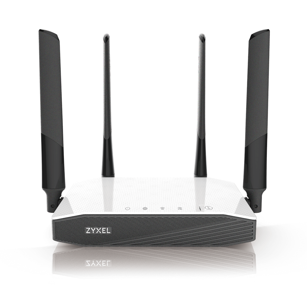 Router ZyXEL NBG6604 WAN: 1xEthernet WiFi: 802.11ac-1200Mbps
