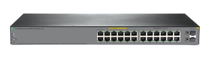 Switch HPE OfficeConnect 1920S 24G 2SFP PPoE+ 185W Switch
