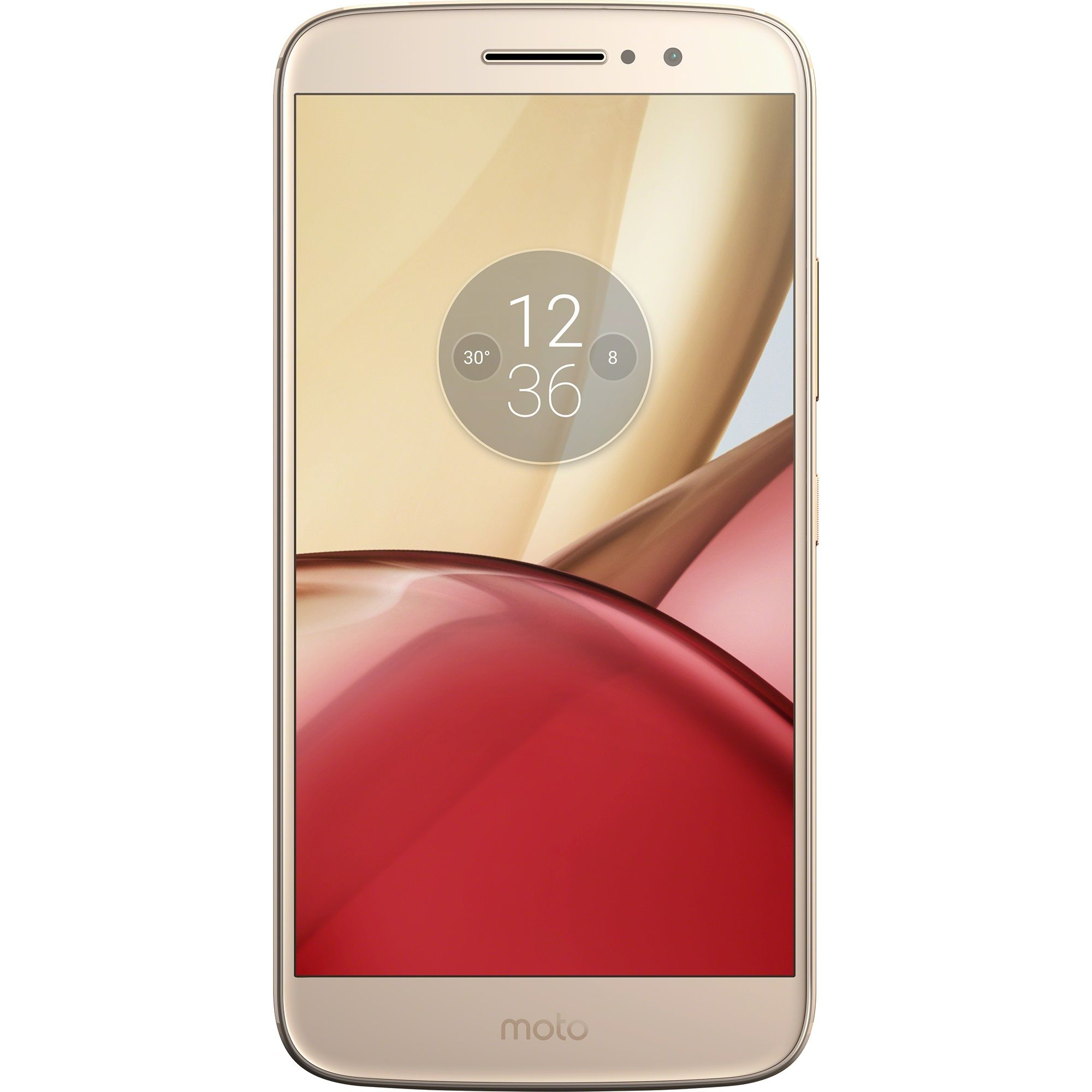 Telefon Mobil Lenovo Moto M 32GB Flash Dual SIM 4G Gold