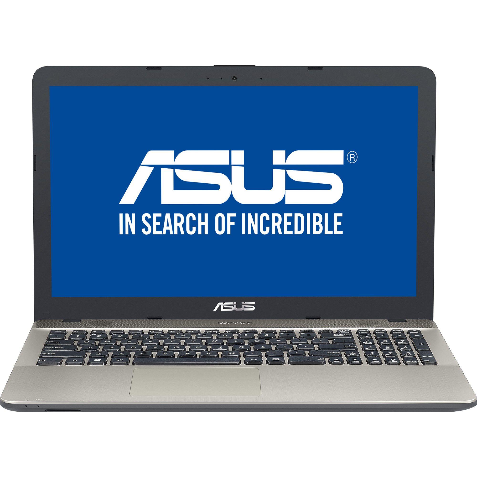 Notebook Asus A541UA 15.6 HD Intel Core i3-6006U RAM 4GB HDD 500GB Windows 10 Home Negru