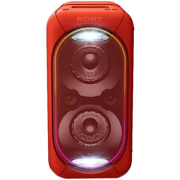 Sistem audio Sony GTK-XB60B USB Wi-Fi NFC Bluetooth Rosu
