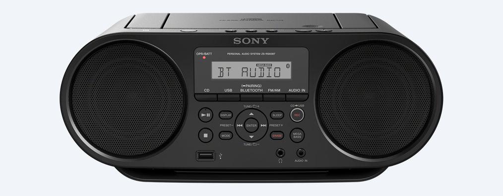Mini Sistem Sony ZS-RS70BTB Bluetooth NFC Negru