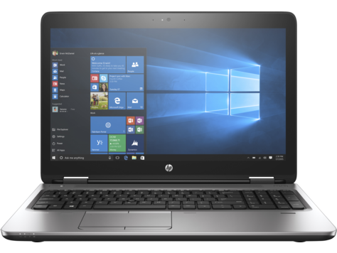 Notebook HP ProBook 650 G3 15.6 Full HD Intel Core i5-7440HQ RAM 8GB SSD 256GB Windows 10 Pro