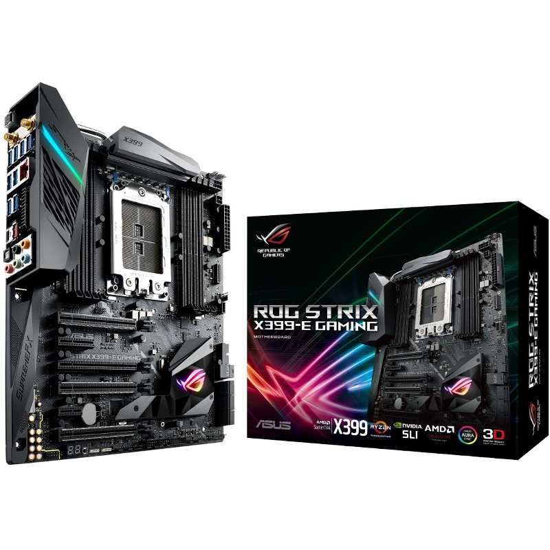 Placa de baza ASUS ROG STRIX X399-E GAMING socket TR4