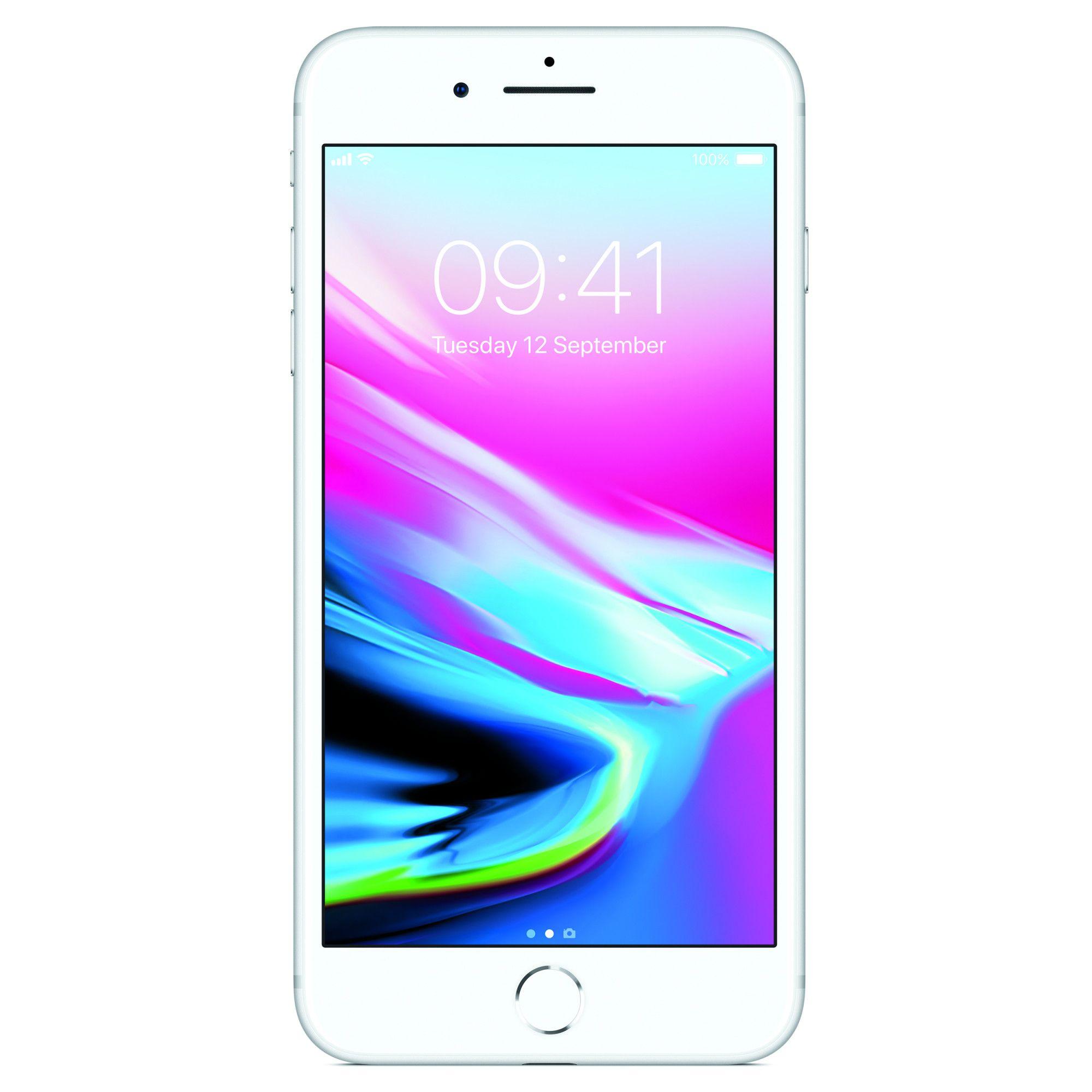 Telefon Mobil Apple iPhone 8 Plus 256GB Silver title=Telefon Mobil Apple iPhone 8 Plus 256GB Silver