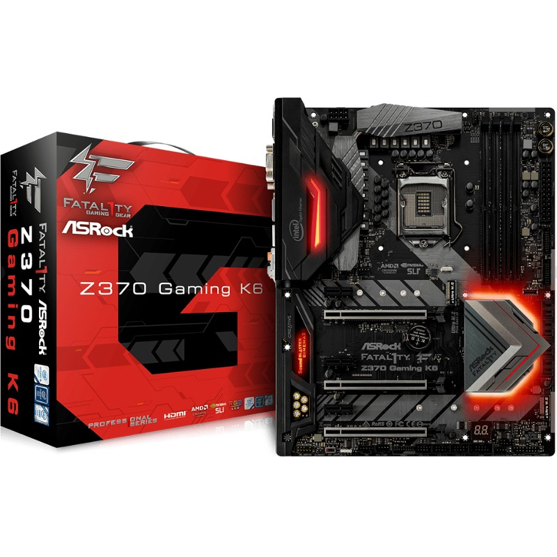 Placa de baza ASRock Z370 GAMING K6 socket 1151