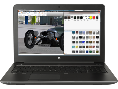 Notebook HP ZBook 15 G4 15.6 Full HD Intel Core i7-7700HQ M1200-4GB RAM 8GB SSD 256GB Windows 10 Pro