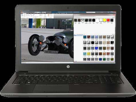 Notebook HP ZBook 15 G4 15.6 Full HD Intel Core i7-7700HQ M2200-4GB RAM 16GB SSD 256GB Windows 10 Pro