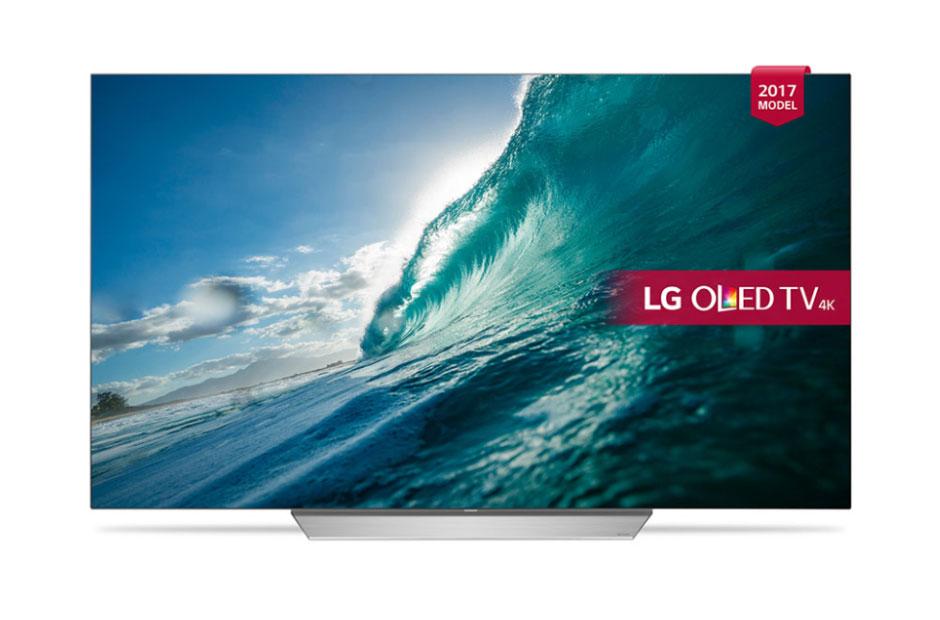 Televizor OLED LG Smart TV OLED65C7V 164cm 4K Ultra HD Negru