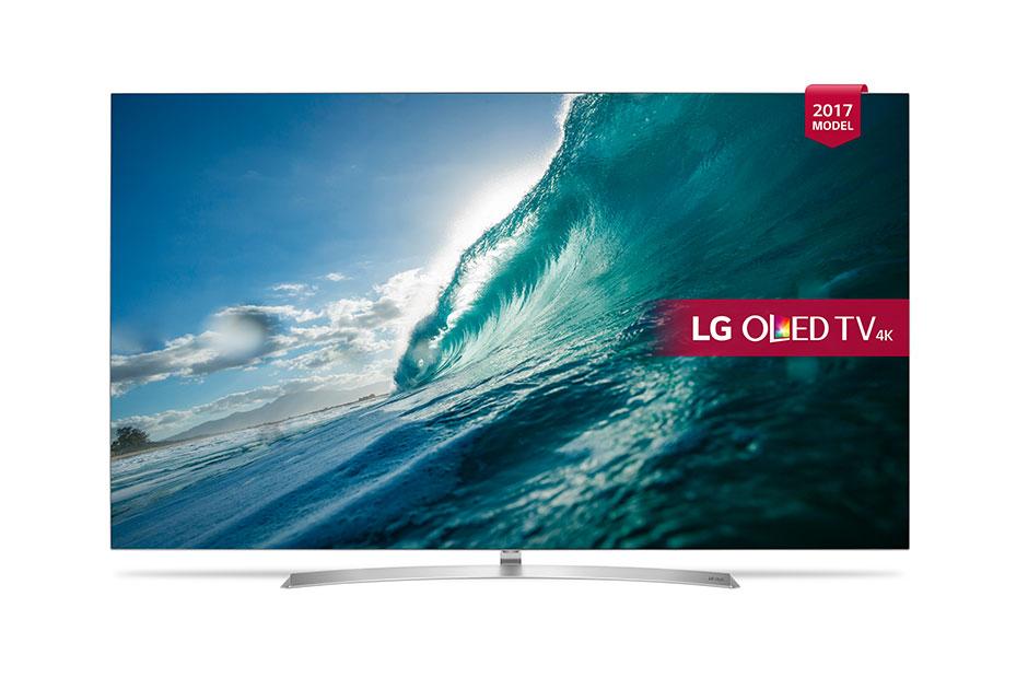 Televizor OLED Smart TV LG OLED65B7V 164cm 4K Ultra HD Argintiu